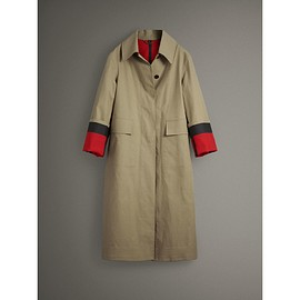 BURBERRY - Bonded Cotton Poplin Seam-sealed Car Coat(2017 September)