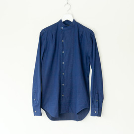 UMIT BENAN - BAND COLLAR SHIRT