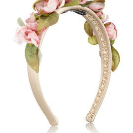 DOLCE&GABBANA - Headband with flowers, Dolce & Gabbana
