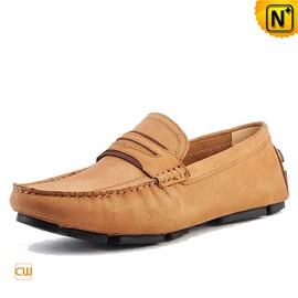cwmalls - Mens Slip on Leather Penny Loafers CW740301