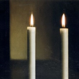 GERHARD RICHTER  - Two Candles , 1982