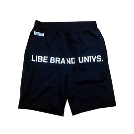 LIBE BRAND UNIVS. - SWEAT HALF PANTS (Black)