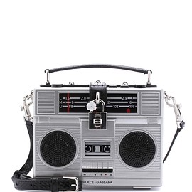 DOLCE&GABBANA - SS2017 Dolce Box radio bag with speakers
