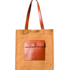 A.P.C. - North south bag/TOBACCO