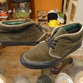 "vans - 「<used>90's vans SUEDE CHUKKA BOOT mosgreen""made in USA"" size:US9?(27cm?) 7500yen」販売中"