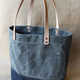 strawfoot handmade - Waxed Canvas Tote Bag
