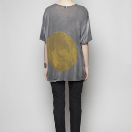 AMY GLENN - Crewneck Back Circle Tee