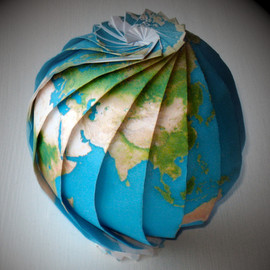 Lloyd Burchill - Origami Earth