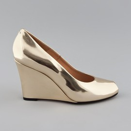 Maison Martin Margiela - Metallic wedge pump