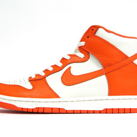 NIKE - DUNK HIGH 08 LE 「LIMITED EDITION for NONFUTURE」 ORG/WHT