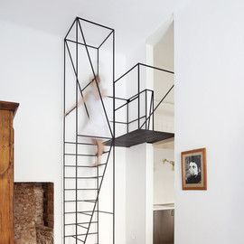 Francesco Librizzi Studio - Metal Staircase