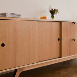 Hunt Furniture - C2700 Mid Century Modern Cabinet