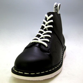 Dr.Martens - ドクターマーチン PETER 7EYE MONKEY BOOT 12941001 BLACK(WHITE SOLE)