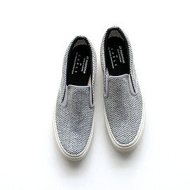 Curly - CURLY×MOONSTAR NP CLOUDY VULC SLIP-ON スリッポン スニーカー