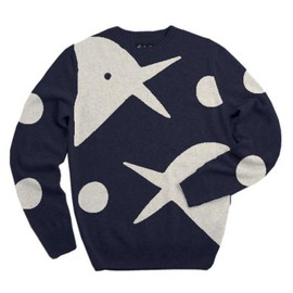 Rockwell Clothing - knitted pullover bird & ball