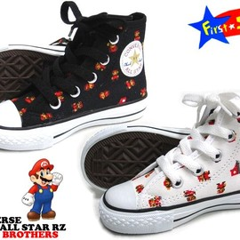 コンバース - CHILD ALL STAR SUPER MARIO BROTHERS RZ
