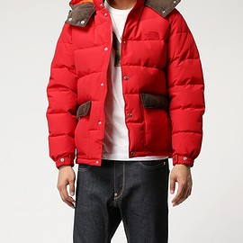 JUNYA WATANABE COMME des GARCONS MAN - 2015-16FW THE NORTH FACE Wネーム ダウンジャケット
