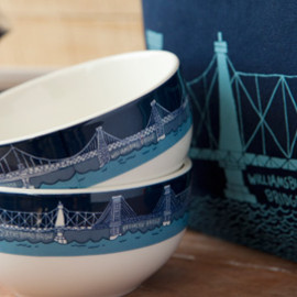 Fishes Eddy - Bridge & Tunnel Cereal Bowl