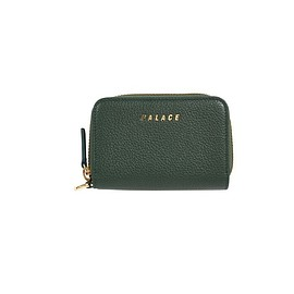 Palace Skateboards - LEATHER WALLET DARK GREEN