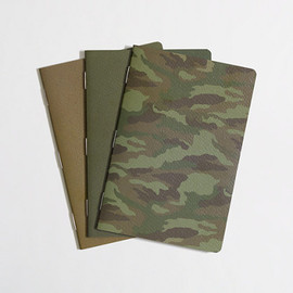 J.Crew - Printed Notebook Three-pack