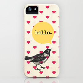Sreetama Ray - Hello. iPhone Case