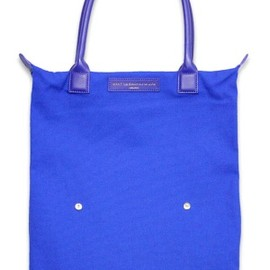 WANT LES ESSENTIELS O'Hare leather tote bag (Cognac