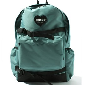 irony - heart patch backpack