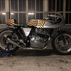 "Young Guns Speed Shop - ""Rohini"" Royal Enfield Continental GT650"
