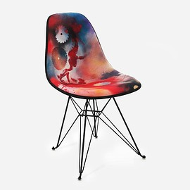 FUTURA2000, Modernica - Bedford Ave and East Broadway Upholstered Side Shell Eiffel