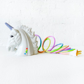 EarthSeaWarrior - Odyssia the Unicorn Night Light - Vintage Lamp