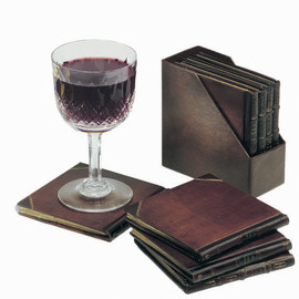 'Faux Book' Coasters