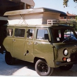 UAZ - UAZ POP UP CAMPER.