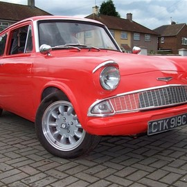 Ford - Cosworth Anglia 105E