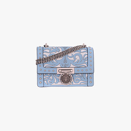 BALMAIN - LEATHER BBOX 20 BAG WITH WESTERN DESIGNS