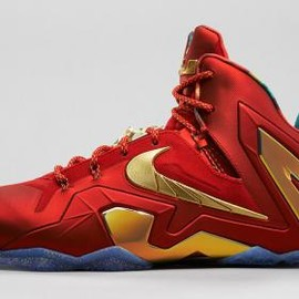 Nike - NIKE LEBRON 11 ELITE SE UNIVERSITY RED/METALLIC GOLD
