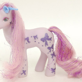 My little pony - Bright night   /Glittery sweatheart sister(G1)