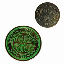 Celtic Football Club Crest Double Sided Golf Ball Marker