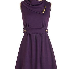 ModCloth - Coach Tour Dress in Violet