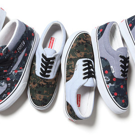 Comme des Garcons SHIRT, Supreme - Vans 2013 Capsule Collection