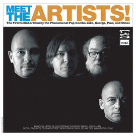Jake and Dinos Chapman, George Condo and Paul McCarthy - MEET THE ARTISTS!