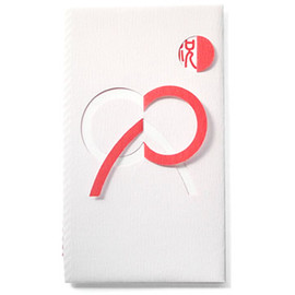 Manabu Otomo - Celebration Envelope, Bowknot Red