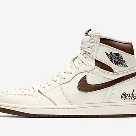 "NIKE - Air Jordan 1 Retro High OG ""Sail/Dark Mocha-Black-Black"""