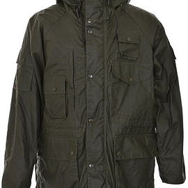 Barbour - Barbour x Engineered Garments Zip Parka - Archive Olive