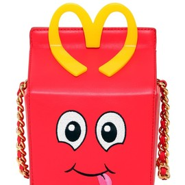 MOSCHINO - FW2014 HAPPY MEAL LEATHER SHOULDER BAG