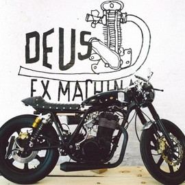 Deus Ex Machina - custom motorcycle