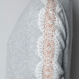 ZARA - Sweater With Lace