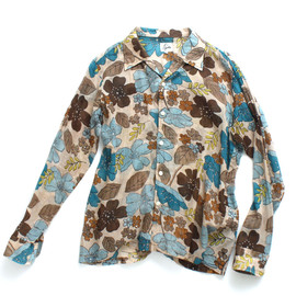 Needles - Printed Cotton Lawn Shirt-Flower