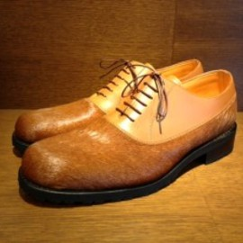 PARABOOT - MAJOR LEATHER SHOES BROWN