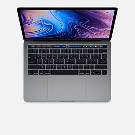 Apple - MacBook Pro (13-inch, 2018, Four Thunderbolt 3 ports)