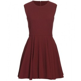 Alexander McQueen - Crepe Flared Dress